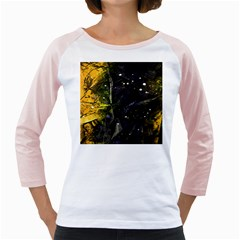 Abstract Design Girly Raglans by ValentinaDesign