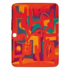 Abstract Art Samsung Galaxy Tab 3 (10 1 ) P5200 Hardshell Case  by ValentinaDesign