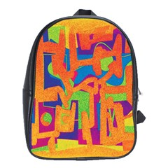 Abstract Art School Bags (xl)  by ValentinaDesign