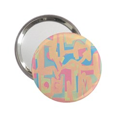 Abstract Art 2 25  Handbag Mirrors by ValentinaDesign
