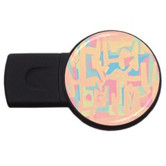 Abstract Art Usb Flash Drive Round (2 Gb) by ValentinaDesign