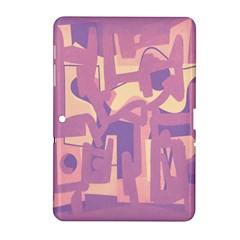 Abstract Art Samsung Galaxy Tab 2 (10 1 ) P5100 Hardshell Case  by ValentinaDesign