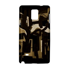 Abstract Art Samsung Galaxy Note 4 Hardshell Case