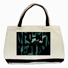Abstract Art Basic Tote Bag (two Sides) by ValentinaDesign