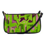 Abstract art Shoulder Clutch Bags Front