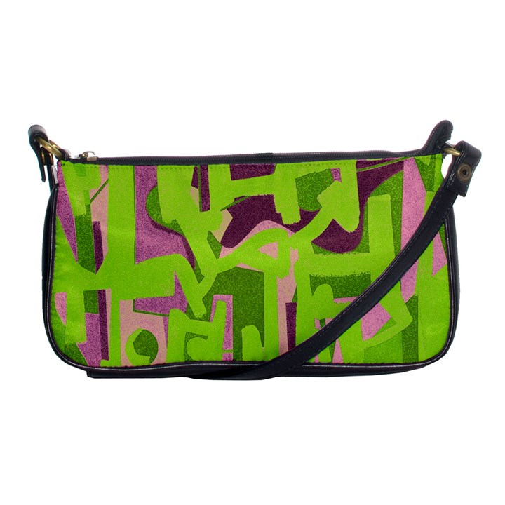 Abstract art Shoulder Clutch Bags