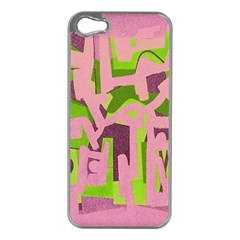 Abstract Art Apple Iphone 5 Case (silver)