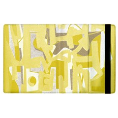 Abstract Art Apple Ipad 2 Flip Case by ValentinaDesign