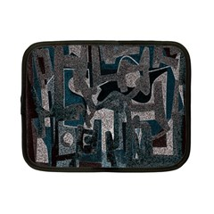 Abstract Art Netbook Case (small)  by ValentinaDesign