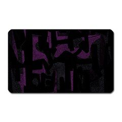 Abstract Art Magnet (rectangular) by ValentinaDesign