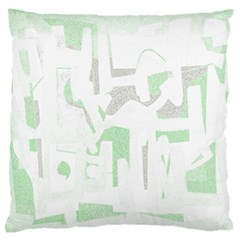Abstract Art Large Flano Cushion Case (one Side) by ValentinaDesign