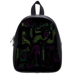 Abstract Art School Bags (small)  by ValentinaDesign