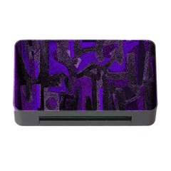 Abstract Art Memory Card Reader With Cf by ValentinaDesign
