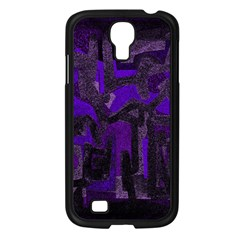 Abstract Art Samsung Galaxy S4 I9500/ I9505 Case (black) by ValentinaDesign
