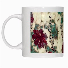 Floral Dreams 10 White Mugs by MoreColorsinLife