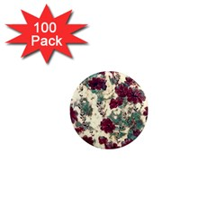 Floral Dreams 10 1  Mini Magnets (100 Pack)  by MoreColorsinLife