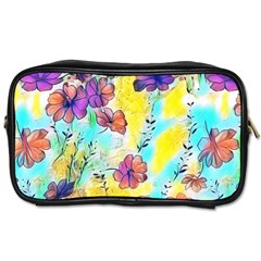 Floral Dreams 12 Toiletries Bags 2 Side by MoreColorsinLife