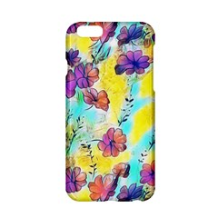 Floral Dreams 12 Apple Iphone 6/6s Hardshell Case by MoreColorsinLife