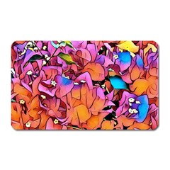 Floral Dreams 15 Magnet (rectangular) by MoreColorsinLife