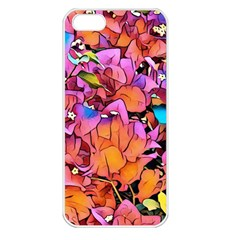 Floral Dreams 15 Apple Iphone 5 Seamless Case (white) by MoreColorsinLife