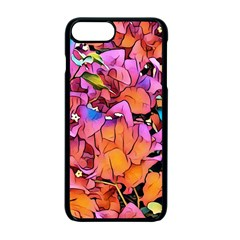 Floral Dreams 15 Apple Iphone 7 Plus Seamless Case (black) by MoreColorsinLife