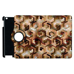 Pattern Factory 23 Brown Apple Ipad 3/4 Flip 360 Case by MoreColorsinLife