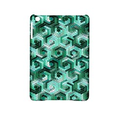 Pattern Factory 23 Teal Ipad Mini 2 Hardshell Cases by MoreColorsinLife