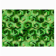 Pattern Factory 23 Green Large Glasses Cloth