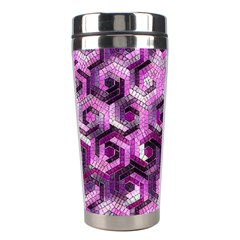 Pattern Factory 23 Pink Stainless Steel Travel Tumblers by MoreColorsinLife