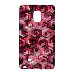 Pattern Factory 23 Red Galaxy Note Edge by MoreColorsinLife