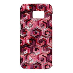 Pattern Factory 23 Red Samsung Galaxy S7 Edge Hardshell Case
