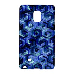 Pattern Factory 23 Blue Galaxy Note Edge by MoreColorsinLife