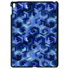 Pattern Factory 23 Blue Apple Ipad Pro 9 7   Black Seamless Case by MoreColorsinLife