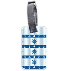 Sea Pattern Luggage Tags (one Side)