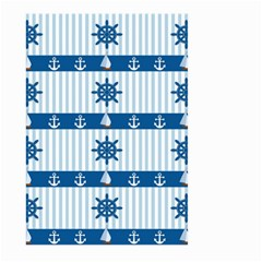 Sea Pattern Large Garden Flag (two Sides)