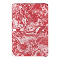 Shimmering Floral Damask Pink Samsung Galaxy Tab Pro 12 2 Hardshell Case by MoreColorsinLife