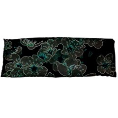 Glowing Flowers In The Dark C Body Pillow Case Dakimakura (two Sides) by MoreColorsinLife