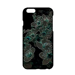 Glowing Flowers In The Dark C Apple Iphone 6/6s Hardshell Case by MoreColorsinLife