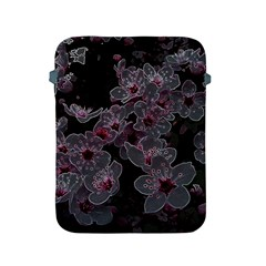 Glowing Flowers In The Dark A Apple Ipad 2/3/4 Protective Soft Cases by MoreColorsinLife