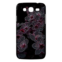 Glowing Flowers In The Dark A Samsung Galaxy Mega 5 8 I9152 Hardshell Case  by MoreColorsinLife