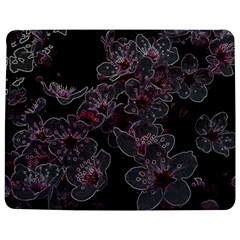 Glowing Flowers In The Dark A Jigsaw Puzzle Photo Stand (rectangular) by MoreColorsinLife