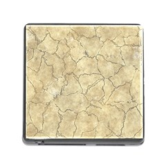 Cracked Skull Bone Surface B Memory Card Reader (square) by MoreColorsinLife