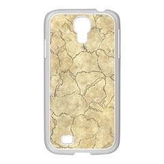 Cracked Skull Bone Surface B Samsung Galaxy S4 I9500/ I9505 Case (white) by MoreColorsinLife