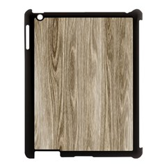 Wooden Structure 3 Apple Ipad 3/4 Case (black) by MoreColorsinLife