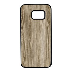 Wooden Structure 3 Samsung Galaxy S7 Black Seamless Case by MoreColorsinLife