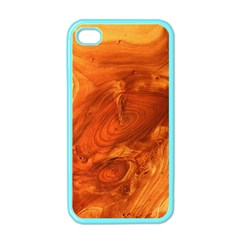 Fantastic Wood Grain Apple Iphone 4 Case (color) by MoreColorsinLife