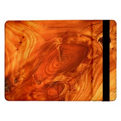 Fantastic Wood Grain Samsung Galaxy Tab Pro 12 2  Flip Case by MoreColorsinLife