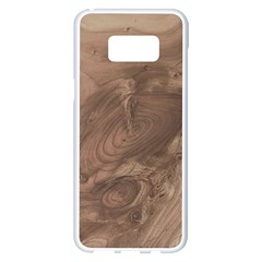 Fantastic Wood Grain Soft Samsung Galaxy S8 Plus White Seamless Case by MoreColorsinLife