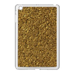 Sparkling Metal Art A Apple Ipad Mini Case (white) by MoreColorsinLife