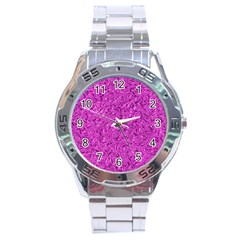 Sparkling Metal Art D Stainless Steel Analogue Watch by MoreColorsinLife